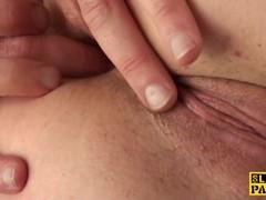 Tattooed british sub dominated with anal Thumb