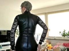 Sissy Sexy Leather Humiliation fantasy.mp4 Thumb