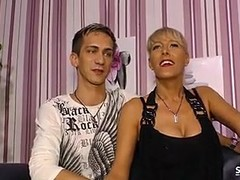 Hot SexTapeGermany - German couple in sex tape with amateur MILF Thumb