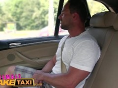 FemaleFakeTaxi Massive tits cabbie wants cock on the backseat Thumb