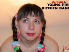 SEXY YOUNG PINK KITCHEN DANCE AND TWERK BY IRA VERBER Thumb