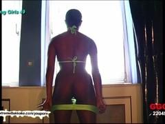 Ebony Babe Audry Cum target - Extreme Bukkake Thumb