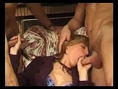 French Mature Gets Fucked And Fisted Thumb