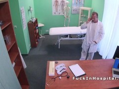 Petite patient hard fucks horny doctor Thumb