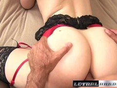 Riley stretches her ass out to take a big cock Thumb