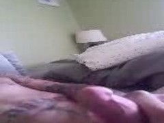 Me stroking to ex gf dirty panties Thumb