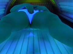 HIDDEN CAM MASTURBATION PUBLIC SOLARIUM WITH TOY Thumb