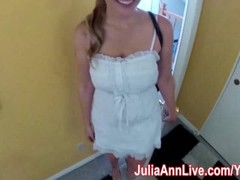 Nurse Julia Ann Visits For an Oral Exam! Thumb