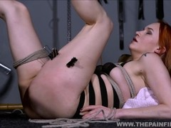 Kinky Dirty Marys lesbian electro bdsm and slavegirl humiliation of spanked and whipped amateur subm Thumb