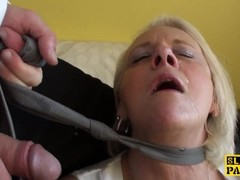 Bigtitted british gran gets rough domination Thumb