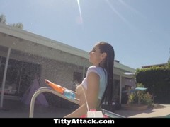 TittyAttack- Busty Wet Teen Fucked By Huge Cock Thumb