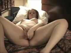 Horny Chubby Teen masturbating at her hotel room Thumb