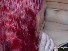busty redhead milf gangbanged Thumb