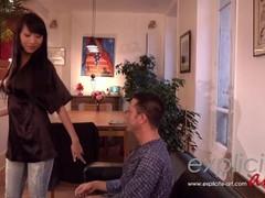 Busty asian Sharon Lee hardcore anal Thumb