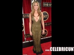 Stunning Celebrity Milf Jennifer Aniston Downblouse Awesome Tits Thumb