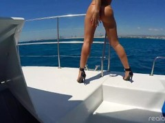 The making of BOAT ORGIE - Realagent.xxx - Pornstars PARTY Thumb
