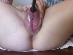 close up pumping my pussy, and fucking myself Thumb