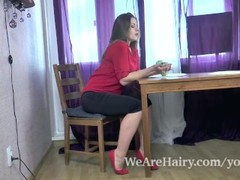Bella Moore strips naked and masturbates Thumb