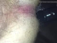 Sissy banged with bbc strapon closeup Thumb