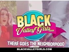 BlackValleyGirls - Sexy Ebony Teen Fucks Her Coach Thumb