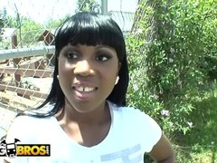 BANGBROS - Curvy Black Pornstar Maserati Loves Her Some White Meat! Thumb