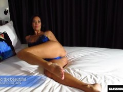 Catching your step mom masturbating and she wants your cock Thumb