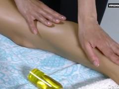 Lika Volosatik sexy hairy massage Thumb
