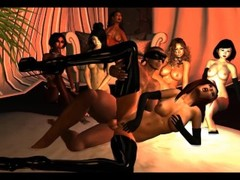 Session 60 Part 1 - 10 Women Fuck Masked Man in a Sex Club Thumb