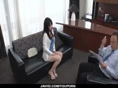 Casting for porn makes Yui Satonaka to act really nasty Thumb