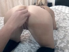Teen hardcore anal fuck, gaping with toys and deep blowjob Thumb