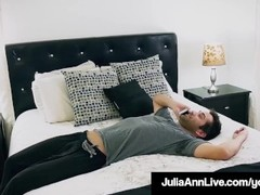 Step Mom Milf Julia Ann Gets A Load On Her Face By Step Son! Thumb