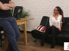 British spex voyeur instructs and watches sub Thumb