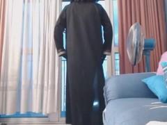musulmane exhibe devant un grutier Thumb