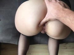 Blonde Teen gets Crazy for Extreme Deep ANAL, GAPE and CREAM Thumb