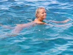 Katya Clover - Naked Beach Dancer[Corsica Summer 2014] Thumb