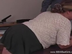 Spanking The BBW Amateur Housewife Thumb