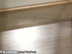 Maya Moreno Caught Janitor Sniffing her Panties Thumb