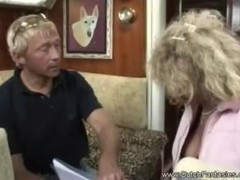 Pierced Pussy Dutch Blonde Granny Fuck Thumb