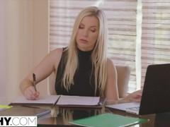 TUSHY Hot Secretary Has Anal With Her Boss Thumb