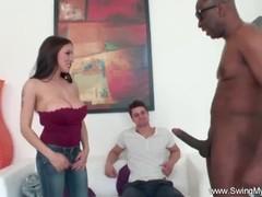 Interracial BBC With Big Tit latina Swinger Thumb