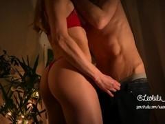 LEOLULU XMAS PART 2 - Mrs Claus jumps on Santa's dick for Christmas Thumb