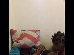 Ebony babe gets pounded Thumb