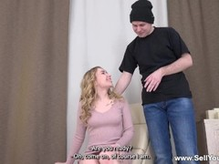 Sell Your GF - Bella Mur - Surprise fuck for kinky gf Thumb