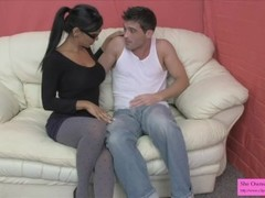 Sex Therapist Jasmine Shy Pegs Lance Hart and Milks Him On Her Tits Thumb