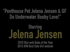 Penthouse Pet Jelena Jensen & GF Do Underwater Booby Love! Thumb