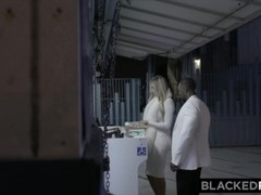 BLACKEDRAW Blonde trophy Wife Cucks Her Husband With BBC Thumb