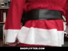 Shoplyfter - Sexy Teen Fucked By Santa Thumb