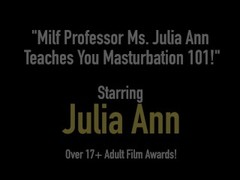 Mega Milf Julia Ann Finds Out Boy Toy Wearing Her Panties! Thumb