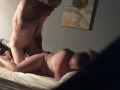 Cheating Wife fucked hard by friend with big dick on hidden video Thumb