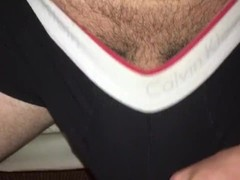 Voyeur playing with my dick Thumb